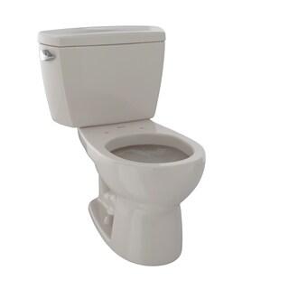 Toto Drake Two-Piece Round 1.6 GPF Toilet CST743S#03 Bone