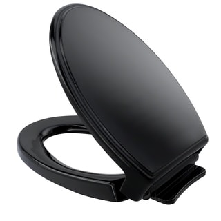 Toto Ebony Elongated Traditional Soft-close Toilet Seat