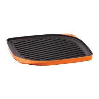 Mario Batali Persimmon Square Reversible 11-inch Grill/ Griddle by Dansk