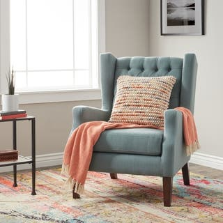 Stones Stripes Maxwell Lillian Wing Chair