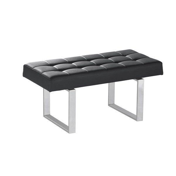 Sunpan Ikon Urbano Chrome Bench Free Shipping Today