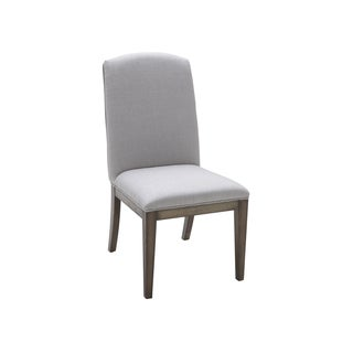 Sunpan Bank Silver Linen Dining Chairs (Set of 2)