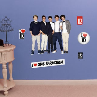Fathead Jr. One Direction Group Pose Wall Decals