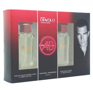Antonio Banderas Diavolo Men's 2-piece Gift Set