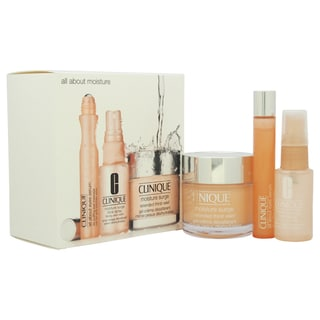 Clinique All About Moisture 3-piece All Skin Types Kit