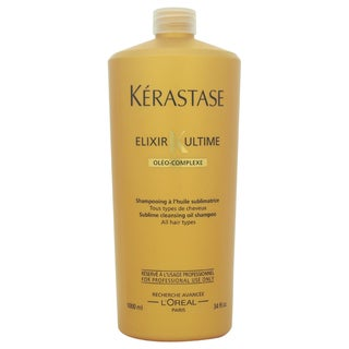 Kerastase Elixir Ultime Sublime 34-ounce Cleansing Oil Shampoo