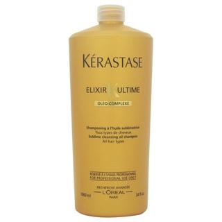 Kerastase Elixir Ultime Sublime Cleansing Oil Shampoofor Unisex 34-ounce Shampoo