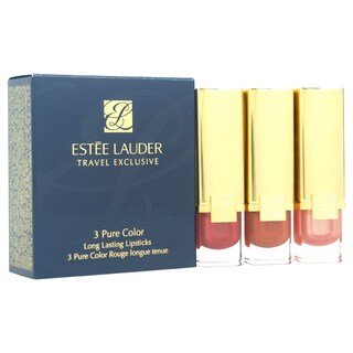 Estee Lauder 3 Pure Color Long Lasting 3-piece Lipstick