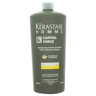 Kerastase Homme Capital Force Daily Treatment 34-ounce Shampoo