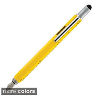 Monteverde One-touch Stylus Nine-function Tool Fountain Pen (Medium Nib)