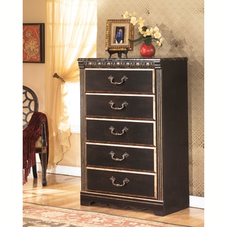 Signature Designs by Ashley Coal Creek Brown 5-drawer Chest
