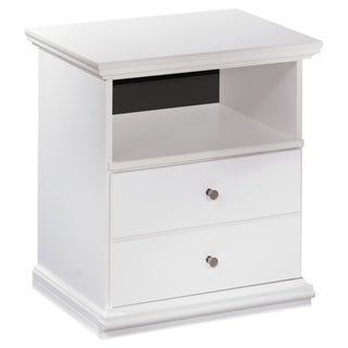 Signature Design by Ashley 'Bostwick' 1-drawer White Night Stand