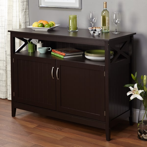 Simple Living Southport Dining Buffet Free Shipping