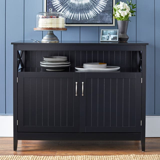Simple Living Southport Dining Buffet - Black