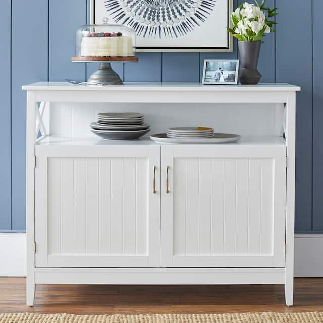 Simple Living Southport Dining Buffet - White