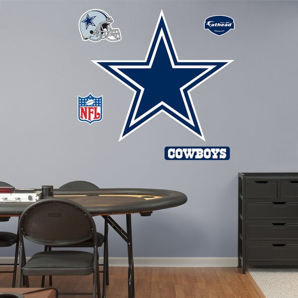 Fathead Dallas Cowboys Logo Wall Decals