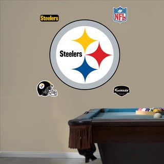 Fathead Pittsburgh Steelers Logo Wall Decals