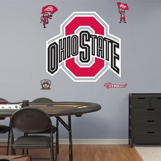 Fathead Ohio State Buckeyes Logo Wall Decal