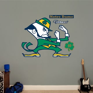 Fathead Notre Dame Logo Wall Decals