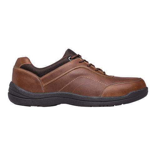 Men's Propet Gino Oxford Brown Full Grain Leather - Thumbnail 1