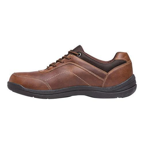 Men's Propet Gino Oxford Brown Full Grain Leather - Thumbnail 2