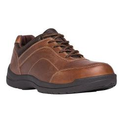 Men's Propet Gino Oxford Brown Full Grain Leather