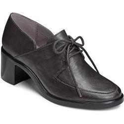 Women's Aerosoles Endearing Oxford Black Faux Leather