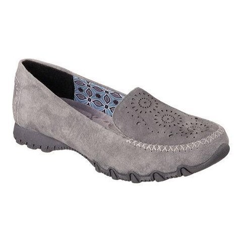 Women's Skechers Relaxed Fit Bikers Traffic Loafer Charcoal