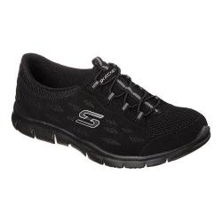 Women's Skechers Gratis Bungee Sneaker Going Places/Black