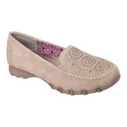 Women's Skechers Relaxed Fit Bikers Traffic Loafer Dark Taupe
