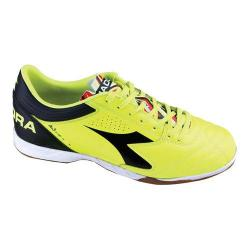 Men's Diadora Italica 3 R ID Soccer Shoe Yellow Fluo/Black