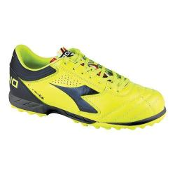 Men's Diadora Italica 3 R TF Soccer Cleat Yellow Fluo/Black