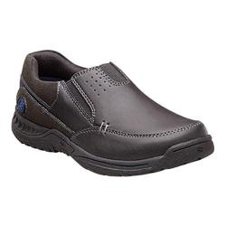 Boys' Nunn Bush High Cliff Jr. Moc-Toe Slip-On Black Leather