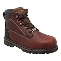 Men's AdTec 9400 6in Steel Toe Work Boot Brown