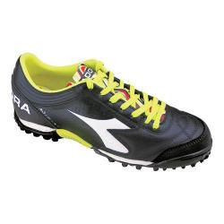 Men's Diadora Italica 3 LT TF Soccer Cleat Black/White
