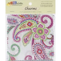 Punch of Paisley Charm Pack 5inX5in 20/PkgPunch of Paisley