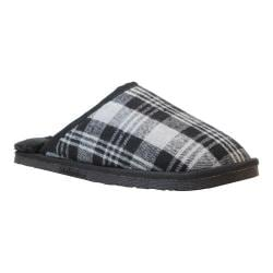 Men's Staheekum Alpine Flannel Slipper Charcoal