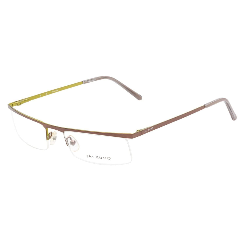 Shop Jai Kudo 472 M08 Grey Lime Prescription Eyeglasses - Free ...
