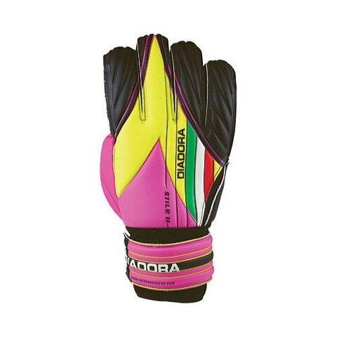 Diadora Stile II Black/Pink/Fluo Yellow