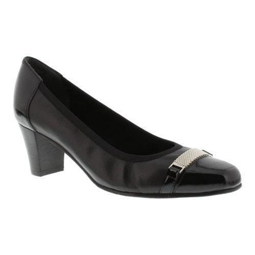 76fafe3e032 Shop Women s Rose Petals by Walking Cradles Branson Pump Black Nappa Patent  - Free Shipping Today - Overstock - 10523298