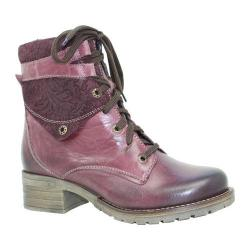 Women's Dromedaris Kara Printed Violet Leather