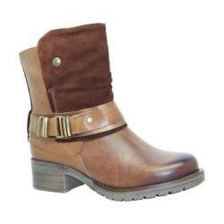 Women's Dromedaris Kikka Biker Boot Saddle Leather