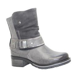 Women's Dromedaris Kikka Biker Boot Slate Leather