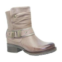 Women's Dromedaris Kikka Biker Boot Taupe Leather