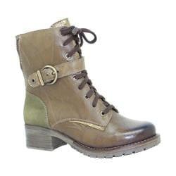 Women's Dromedaris Kimi Boot Olive Leather