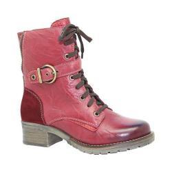 Women's Dromedaris Kimi Boot Red Leather