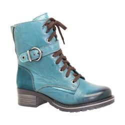 Women's Dromedaris Kimi Boot Teal Leather