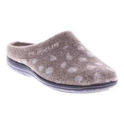 Women's Flexus by Spring Step Winchester Clog Slipper Beige Wool