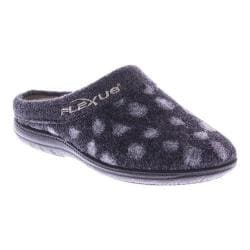 Women's Flexus by Spring Step Winchester Clog Slipper Black Wool