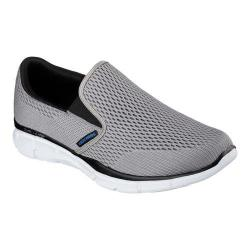 skechers white slip on shoes
